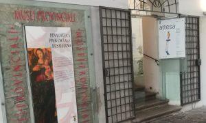 Pinacoteca di Salerno - Accesso principale alla pinacoteca provinciale di Salerno