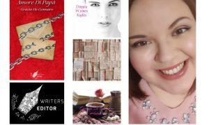 un collage con le immagini di Grazia De Gennaro