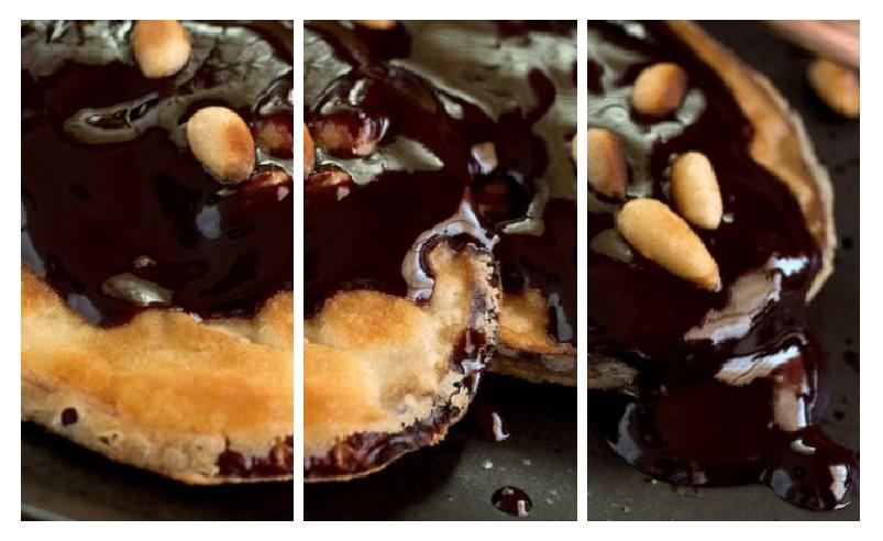 Melanzane Al Cioccolato impiattate