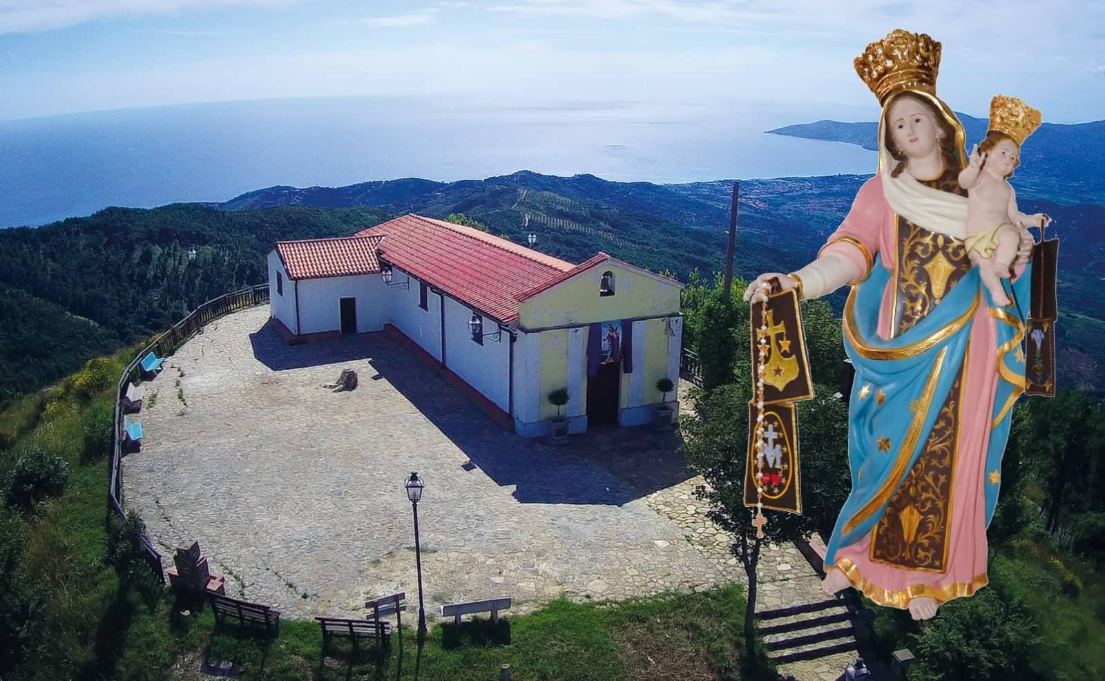 Madonna Del Carmine nel Santuario di Catona