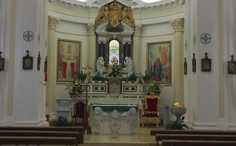 Le Ostie del Miracolo Eucaristico a San Mauro la Bruca
