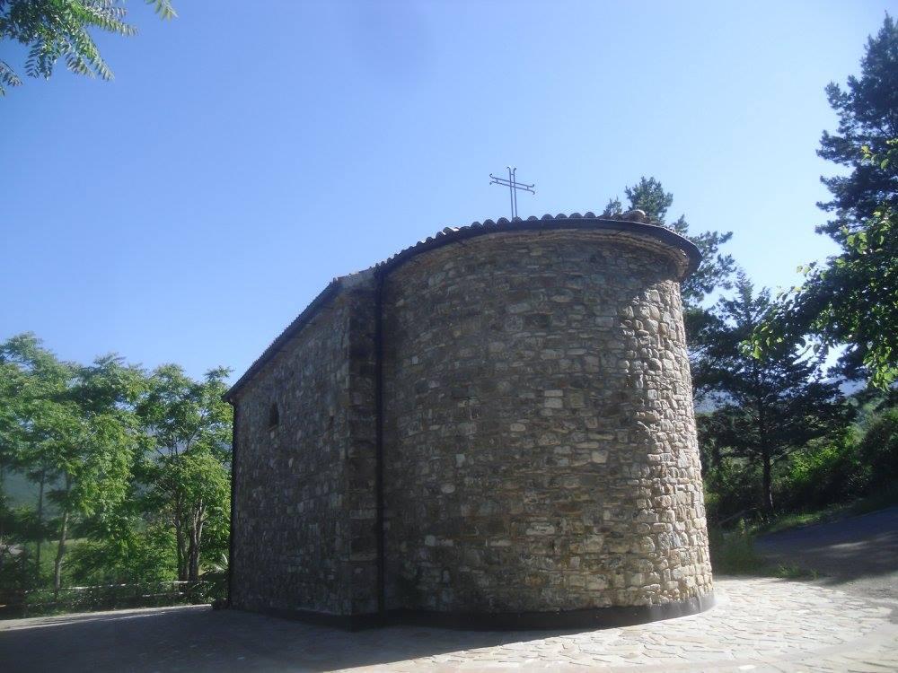 La cappella della Madonna ad Ostigliano: labside