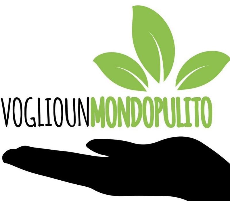 Voglio Un Mondo Pulito - logo iniziativa