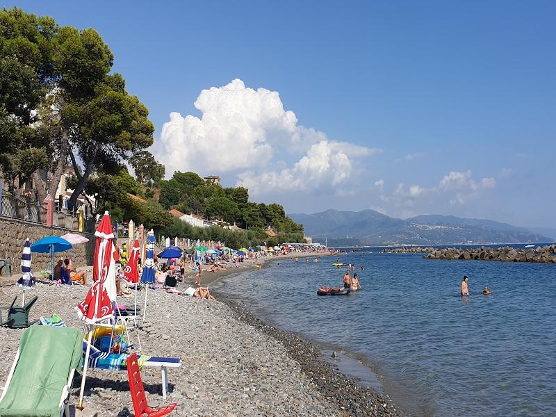 Spiagge e lungomare di Pioppi