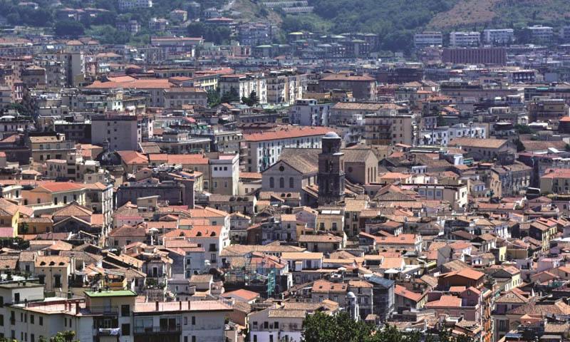 Amato - Vista della Salerno Longobarda