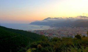 Colle Bellara al tramonto