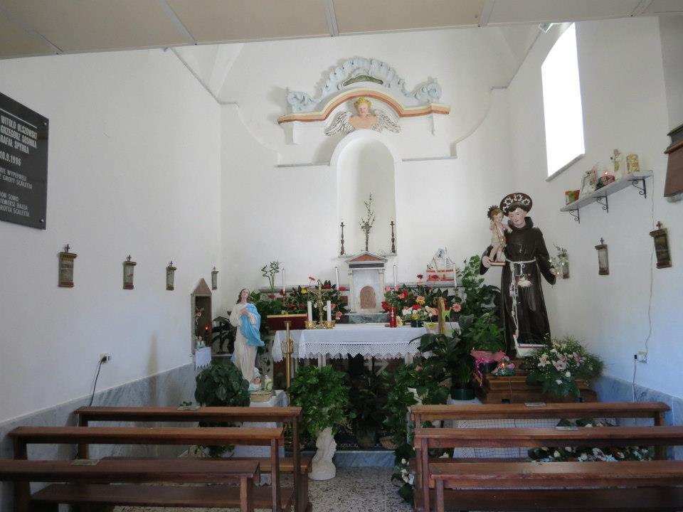 Palinuro, la chiesetta di Sant'Antonio
