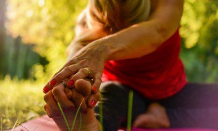 Posizione di Yoga da fare allo Yoga Expo