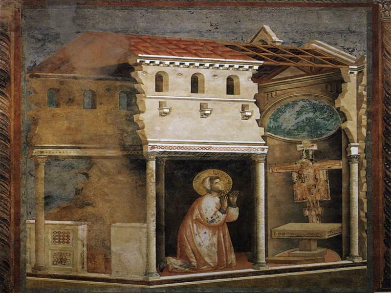 San Francesco Di Assisi in preghiera