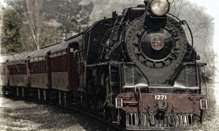 Linea Sicignano Lagonegro - Una vecchia locomotiva