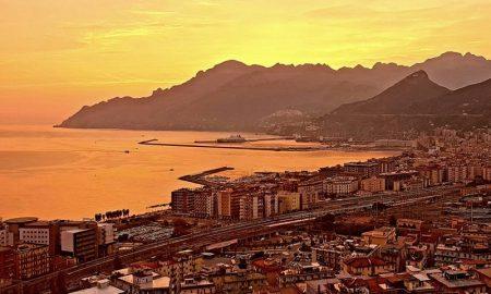 Golfo di Salerno - tramonti