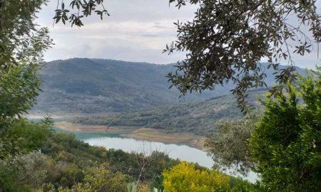 l'Alento all'altezza della diga