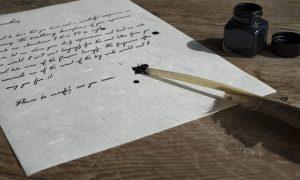 Masuccio Salernitano - Calamaio con inchiostro