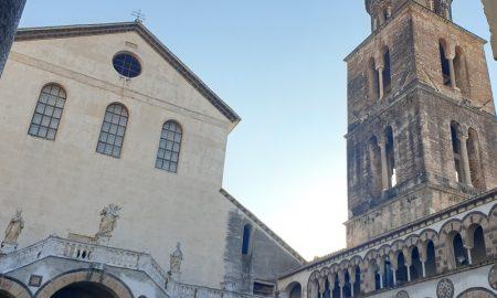 Passeggiata duomo San Matteo a Salerno