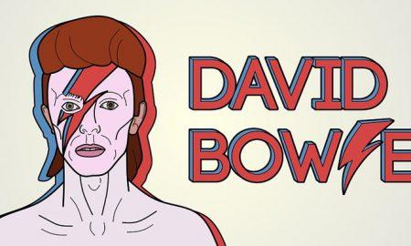Disegno di David Bowie