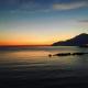 Tramonto dopo una passeggiata a Salerno