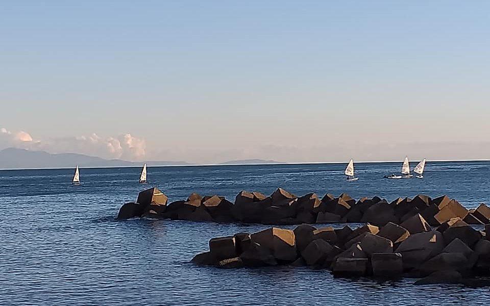 Salerno: il mare d'inverno