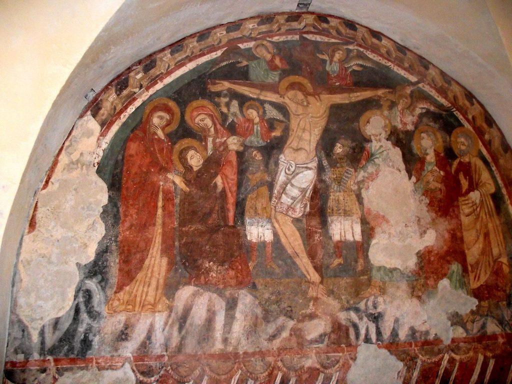Crocifissione all'interno della Chiesa - Via dei Mercanti