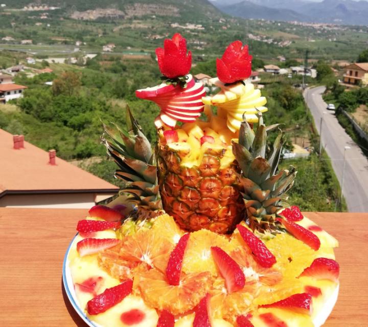Torta con la frutta di Ve l'avita mangià