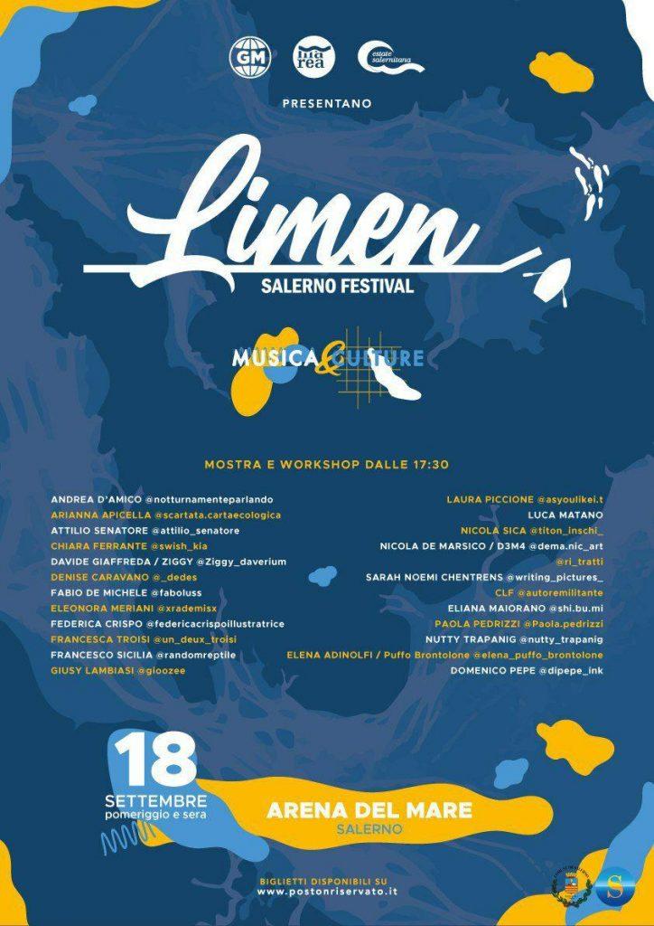 Artisti Limen Salerno Festival 2020