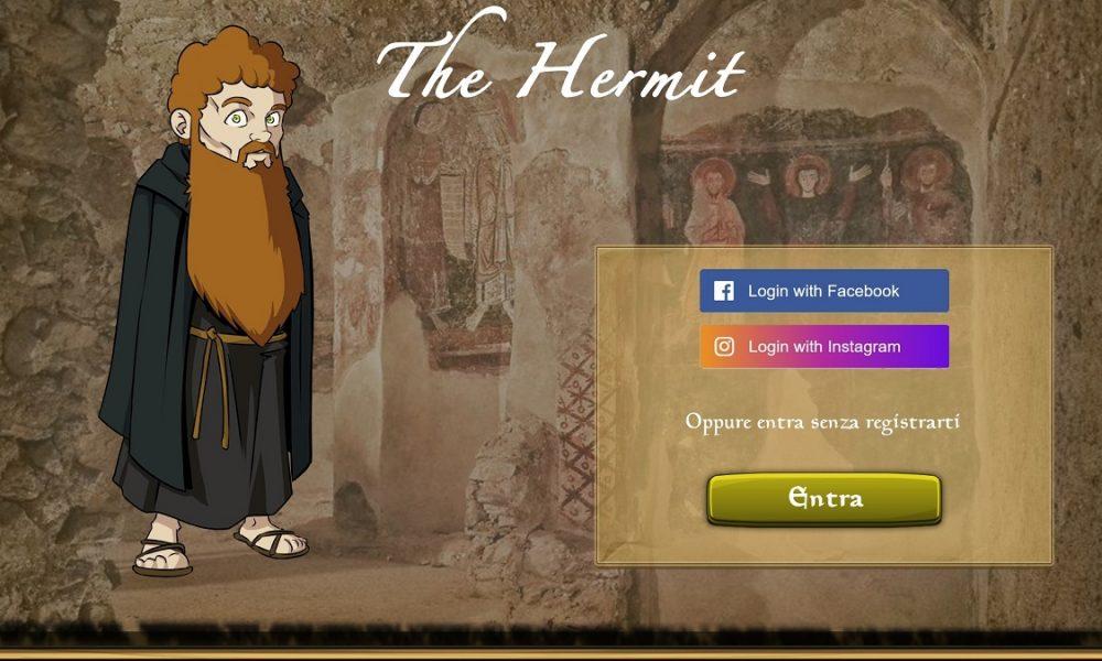 Login The Hermit