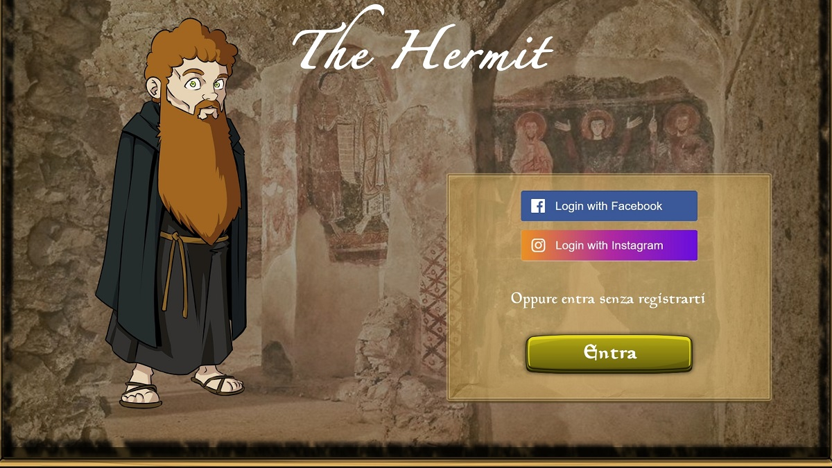 Login The Hermit