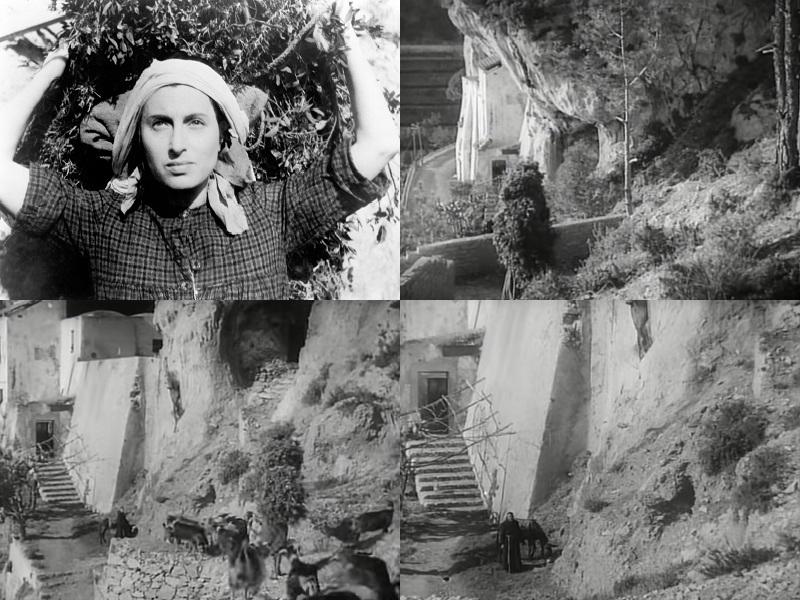 Scene Del Film Lamore Di Fellini Con Anna Magnani