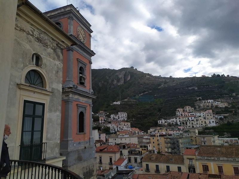 Panorama Dalla Torre Dellex Castello Della Collegiata Santa Maria A Mare