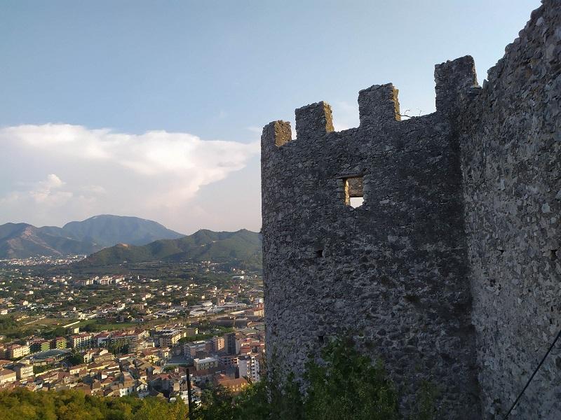Panorama Dal Castello Dei San Severino