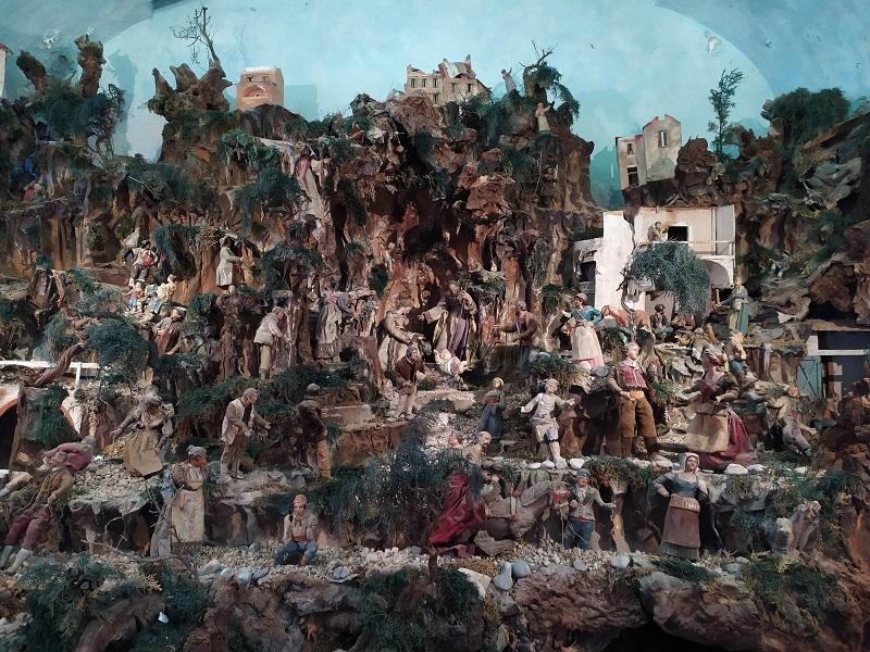 Presepe Settecentesco Allinterno Della Chiesa Di San Pietro Della Canonica Amalfi