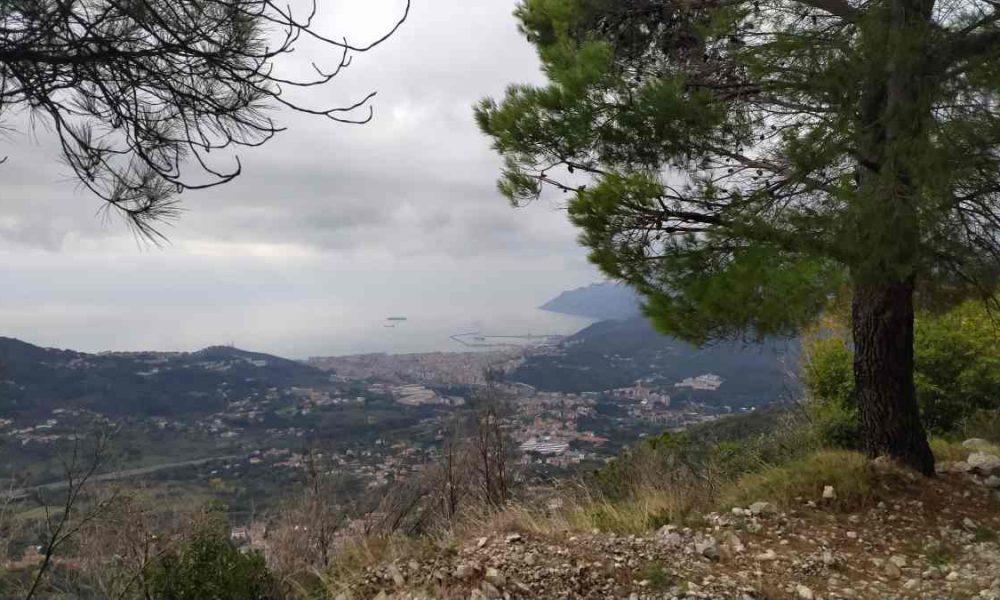 Salerno Vista Dal Monte Stella