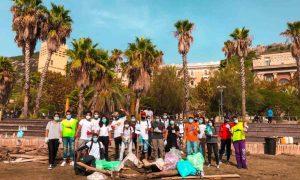 Foto Di Gruppo Dopo Clean Up Santa Teresa