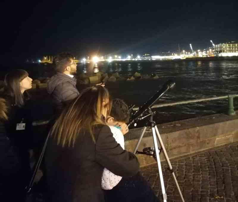 Osservazioni Astronomiche Sul Lungomare Di Salerno