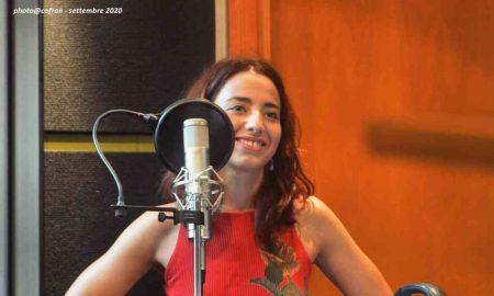 Anita Galdieri In Uno Studio Di Registrazione