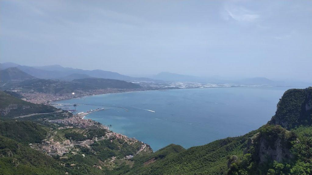 Vista Sul Golfo Di Salerno Dalla Cappella Vecchia