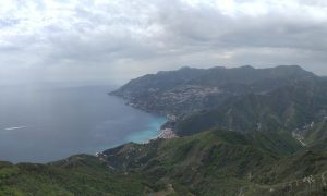 Vista Sulla Costiera Dal Santuario