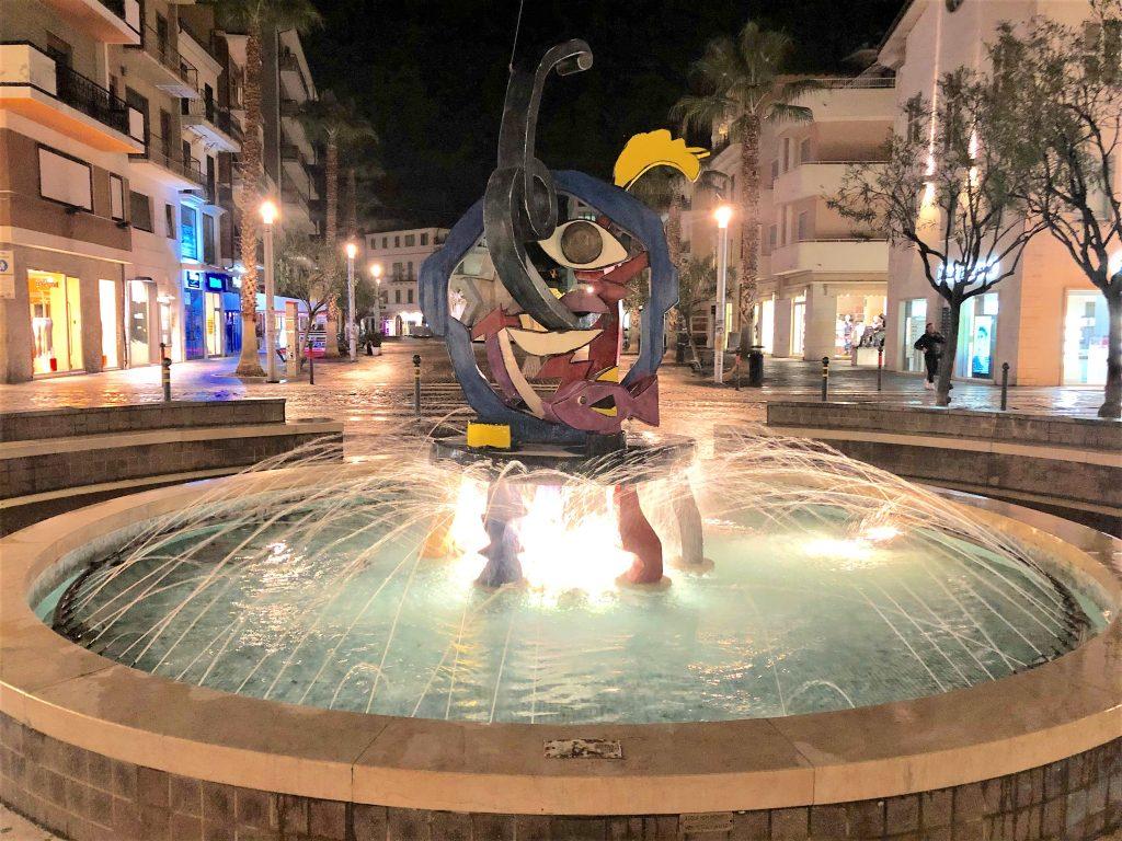 Allegro - monumento di sera