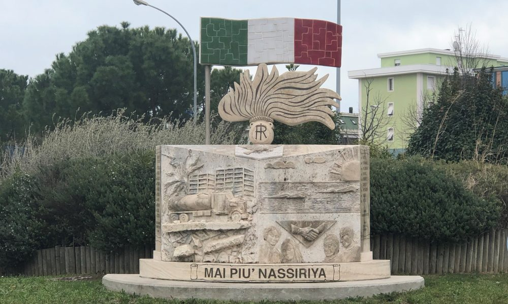 Caduti di nassiriya - il monumento