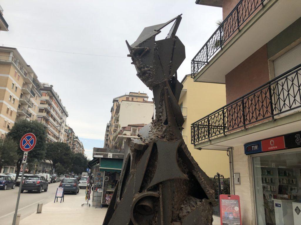 """Parte Superiore della scultura """"La Sibilla"""""""