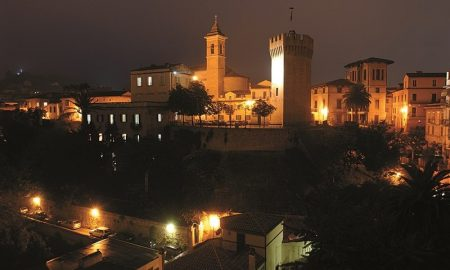San Benedetto, Paese Alto, di notte