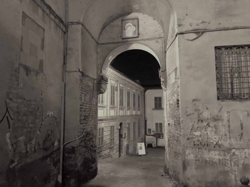 Bice Piacentini, il Palazzo e l'arco