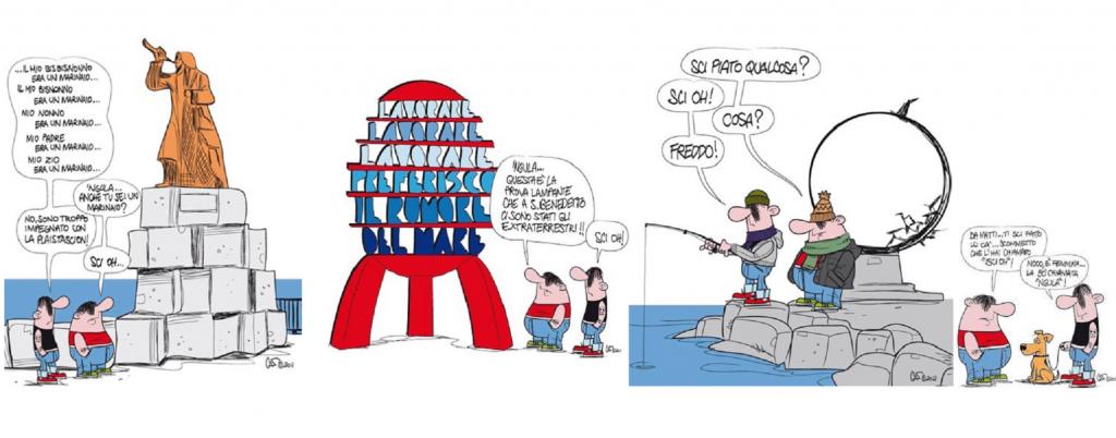 Alcune Vignette Con Il Dialetto Sambenedettese