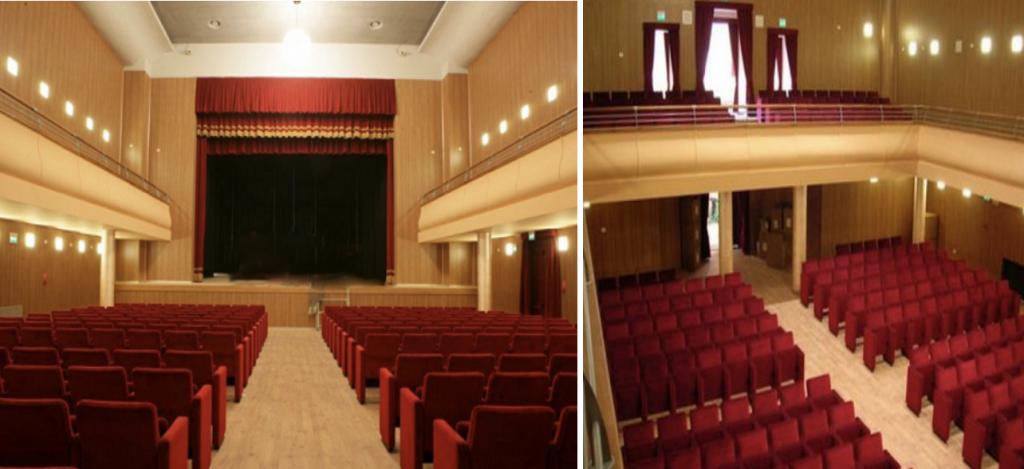 Palcoscenico E Platea Del Teatro Comunale Concordia