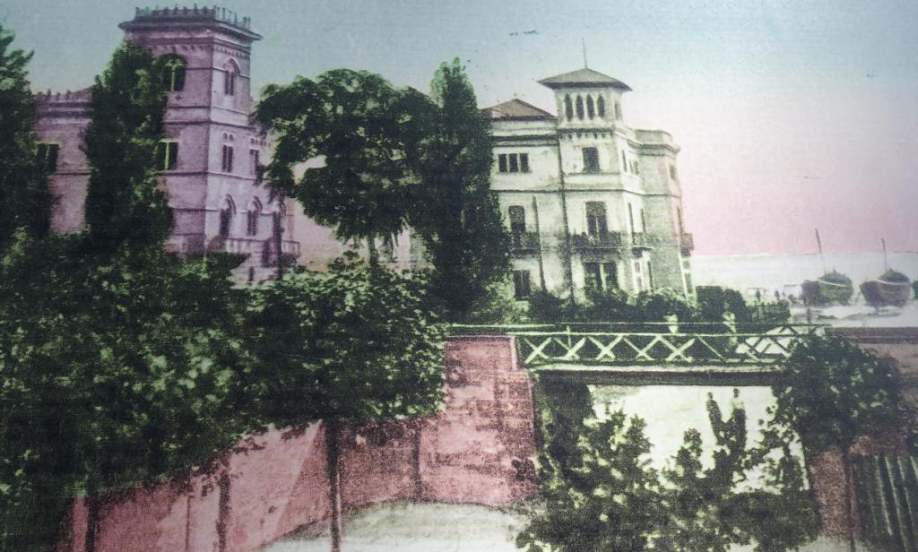Villini Liberty, foto dell'epoca
