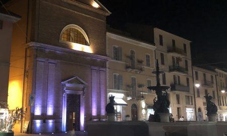 Chiesa San Giuseppe Vista Notturna