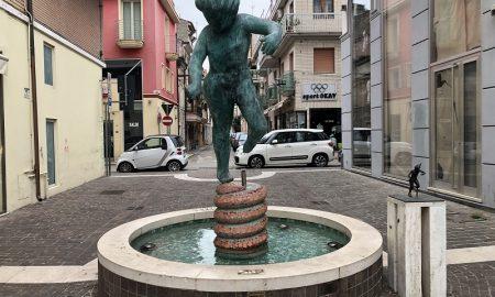 Principe, la statua fontana