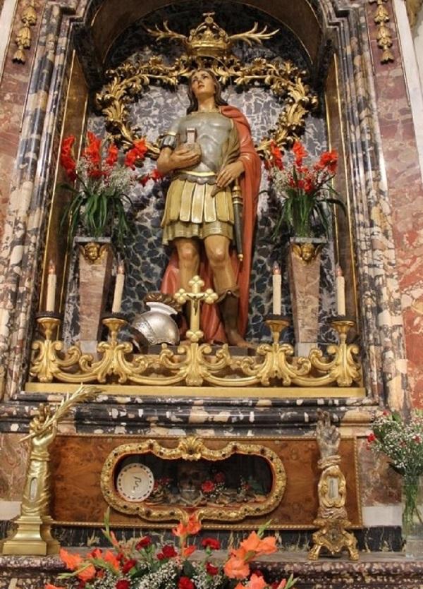 San Benedetto Martire Altare