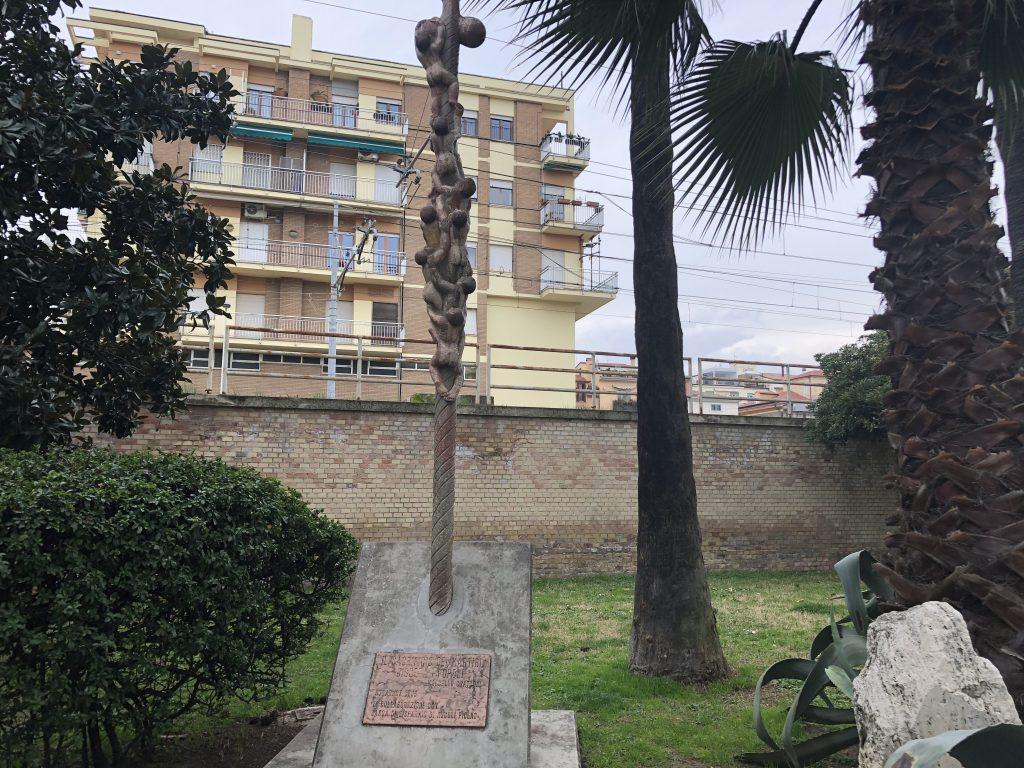 Il volo dei colombi nel Monumento ai Caduti per la libertà