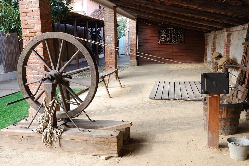 La ruota del funaio