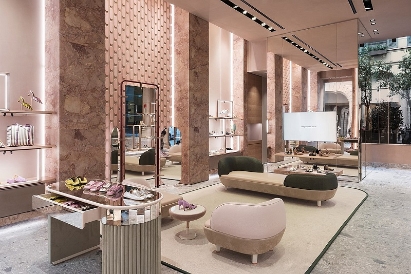 Sergio Rossi Showroom Milano